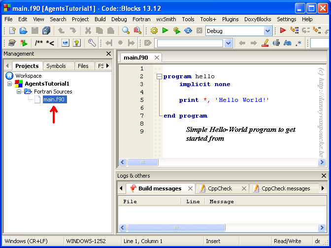 Tutorial: Starting a new Object Oriented Fortran-project in