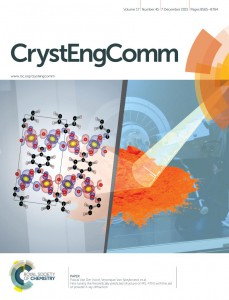 Cover image CrystEngComm 2015 Vol 17 Issue 45