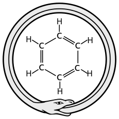 Ouroboros benzene. source: wikipedia