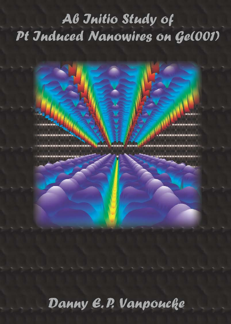 Cover Ph.D. Thesis: Ab Initio Study of Pt Induced Nanowires on Ge(001)